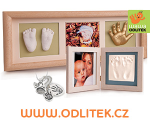 Odlitek.cz - 3D sada na odlitek a otisk nožičky, ručičky miminka